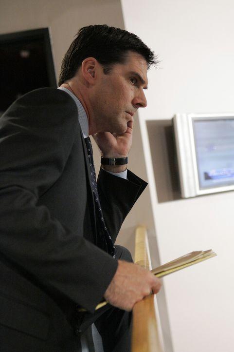 Auf einer heißen Spur: Special Agent Aaron Hotchner (Thomas Gibson) ... - Bildquelle: Touchstone Television
