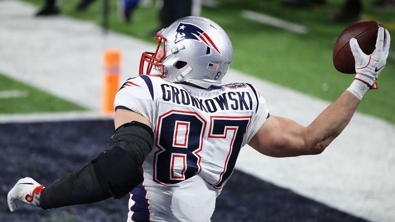 Rob Gronkowski (New England Patriots) - Bildquelle: getty