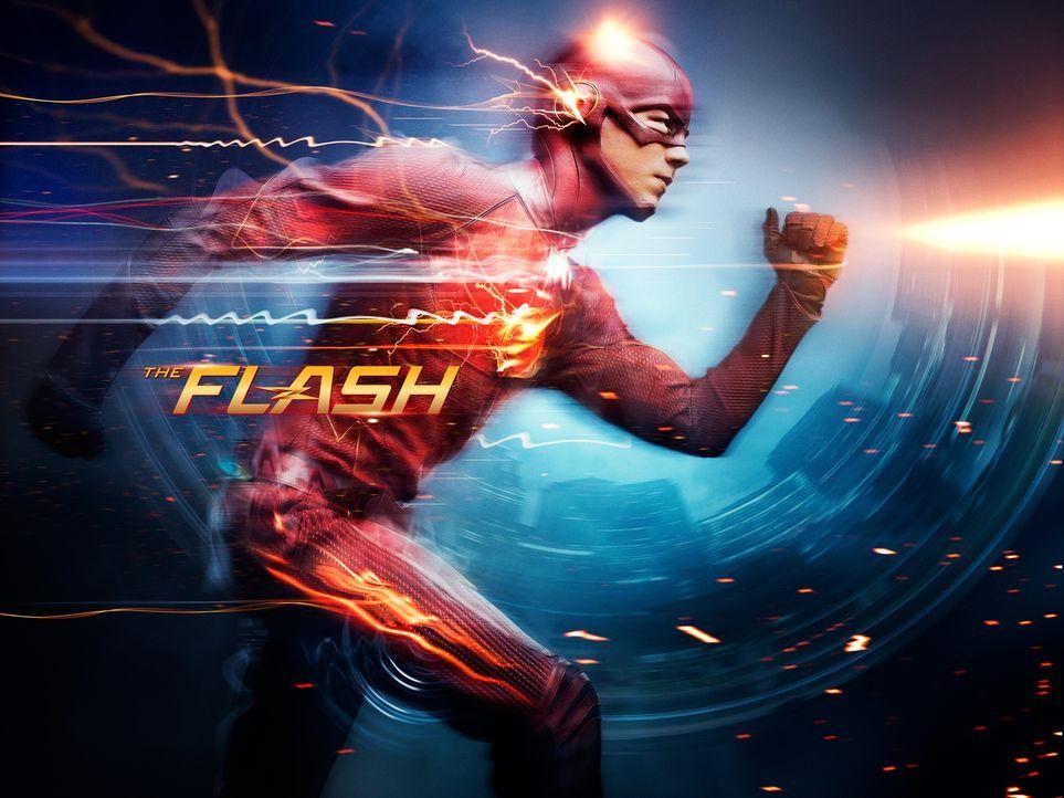 """(1. Staffel) - Vom Wissenschaftler zum Superhelden: Barry Allen alias """"The Flash"""" (Grant Gustin) ... - Bildquelle: Warner Brothers."""
