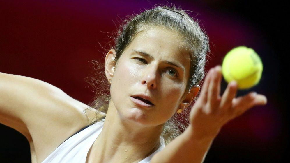 Görges hat ihr Auftaktspiel in Madrid gewonnen - Bildquelle: SID