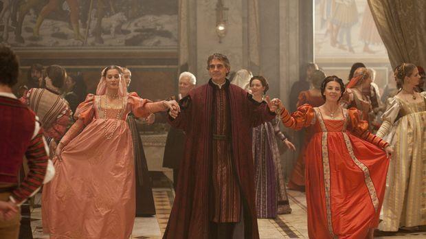 Nur durch einen glücklichen Zufall kann Papst Alexander VI (Jeremy Irons, M.)...