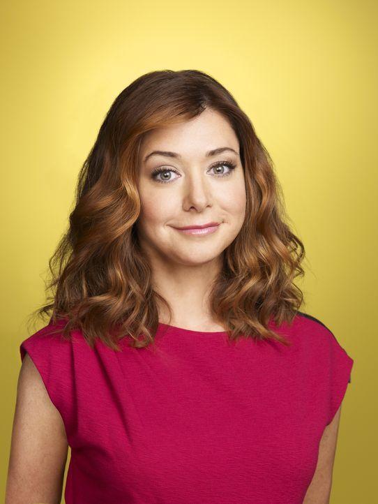 (6. Staffel) - Erlebte viele verrückte Momente mit Ted: Lily (Alyson Hannigan) ... - Bildquelle: 20th Century Fox International Television