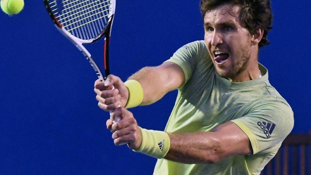 Gewinnt sein erstes Match in Monte Carlo: Mischa Zverev - Bildquelle: AFPSIDPEDRO PARDO