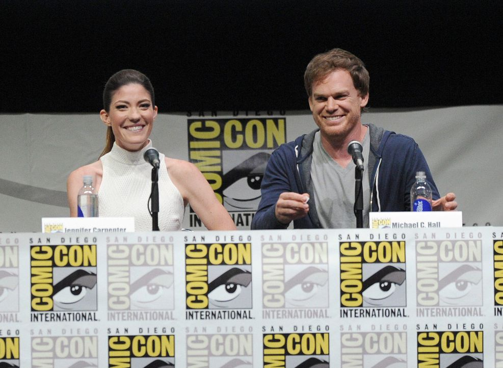 ComicCon-Jennifer-Carpenter-Michael-C-Hall-130718-04-getty-AFP.jpg 1700 x 1243 - Bildquelle: getty-AFP