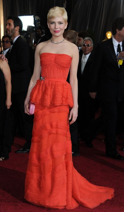 Michelle Williams bei den Oscars 2012 - Bildquelle: AFP