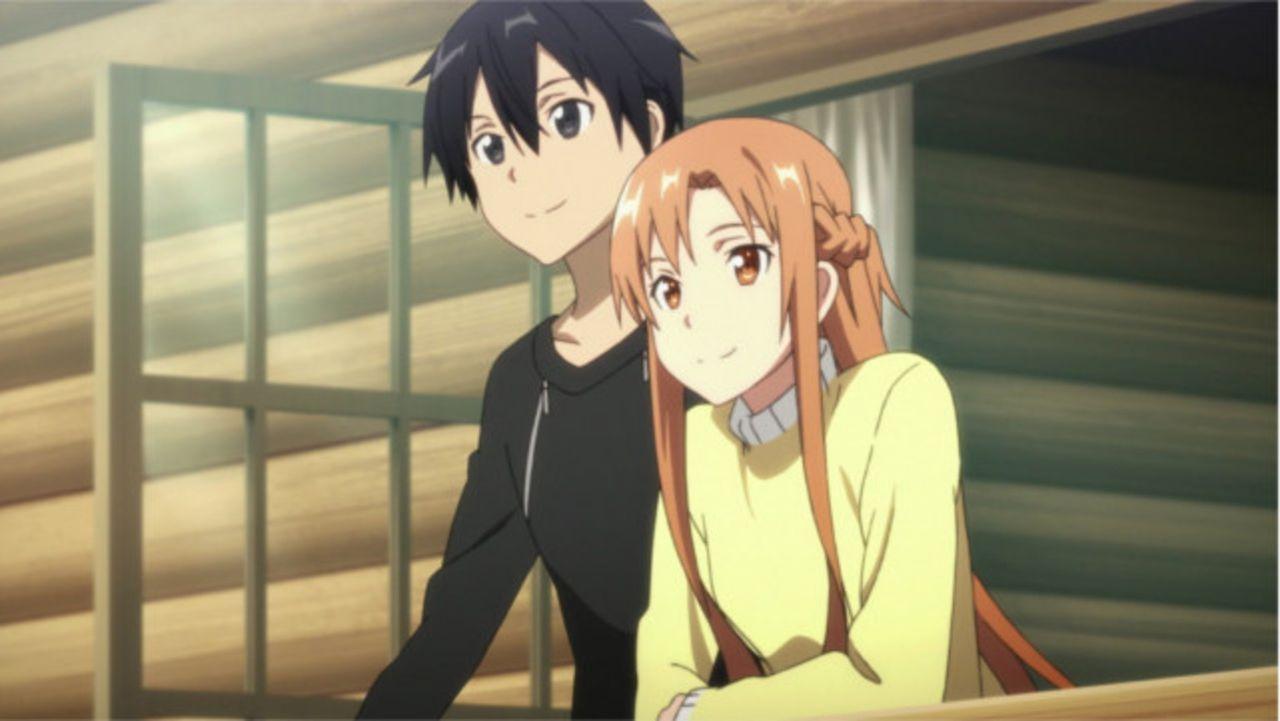 Eigentlich wollen Kirito (l.) und Asuna (r.) lediglich ein bisschen Zeit zusammen, fernab der Kämpfe, verbringen, doch dann entdecken sie in den Wäl... - Bildquelle: REKI KAWAHARA/ASCII MEDIA WORKS/SAO Project