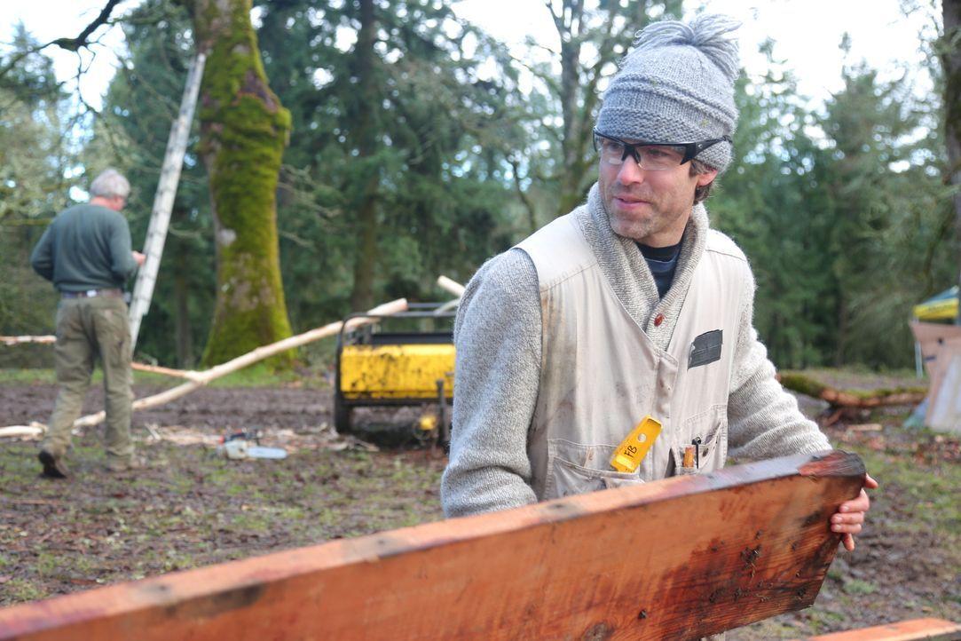 Baumhaus-Profis reisen durchs Land, um Familien und Naturliebhabern maßgeschneiderte Baumhäuser zu bauen ... - Bildquelle: 2015, DIY Network/Scripps Networks, LLC. All Rights Reserved.