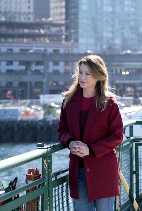 Wird an Ereignisse aus ihrer Vergangenheit erinnert: Meredith (Ellen Pompeo) ... - Bildquelle: Derek Johnson 2017 American Broadcasting Companies, Inc. All rights reserved.
