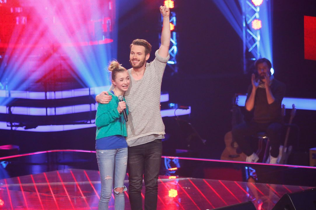 The-Voice-Kids-s03e01-danach-Julie-05 - Bildquelle: SAT.1/ Richard Hübner