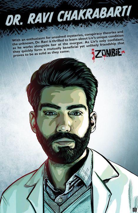 Das ist Dr. Ravi Chakrabarti - Bildquelle: Warner Bros. Entertainment Inc.