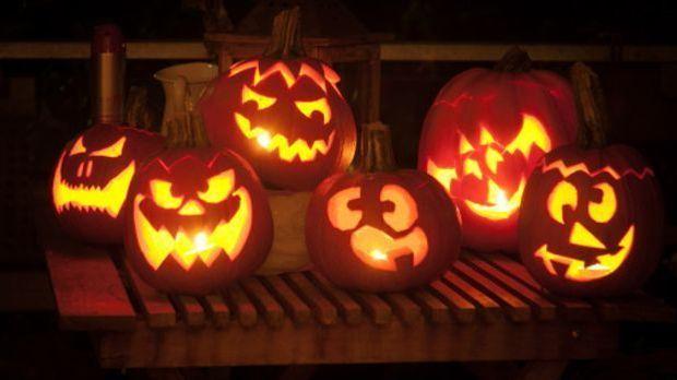 Kürbislaternen für Halloween