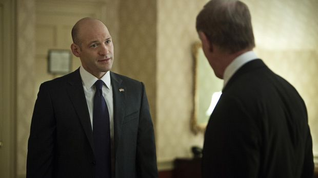 Der republikanische Kongressabgeordnete Russo (Corey Stoll, l.) kämpft in Pen...