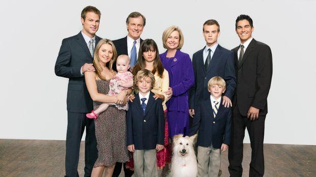 (10. Staffel) - Eine himmlische Familie (V. hinten l. nach vorne r.): Kevin (...