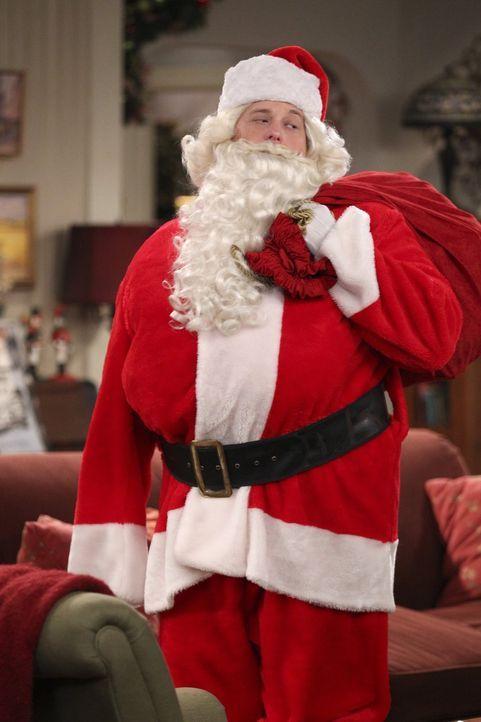 Freut sich auf das bevorstehende Weihnachtsfest: Mike (Billy Gardell) ... - Bildquelle: Warner Brothers