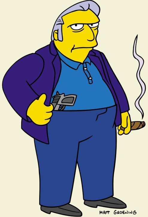 (15. Staffel) - Boss der Springfield Mafia: Fat Tony ... - Bildquelle: und TM Twentieth Century Fox Film Corporation - Alle Rechte vorbehalten