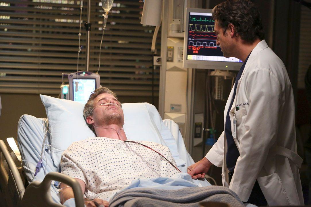 Rückblick: Nach dem Flugzeugabsturz versuchen Mark (Eric Dane, l.) und Derek (Patrick Dempsey, r.), wieder etwas Normalität in ihr Leben zu bekommen... - Bildquelle: ABC Studios