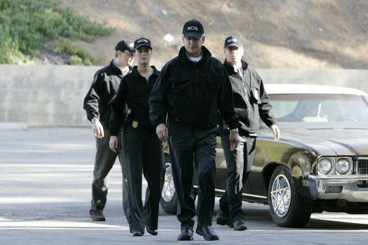 Navy CIS - Rebecca Jennings und ihr Ex-Verlobter Kevin Nelson  werden beim NC...