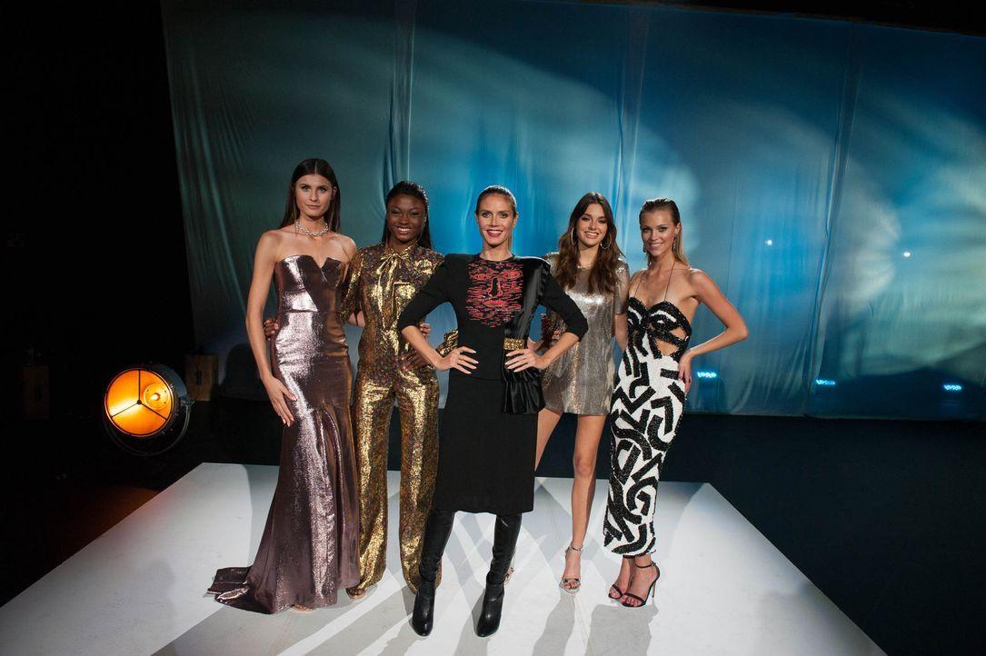 gntm-finalistinnen-2017-11 - Bildquelle: ProSieben