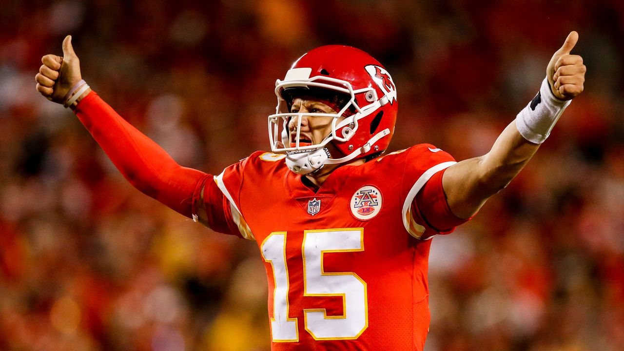 Patrick Mahomes (Kansas City Chiefs)  - Bildquelle: 2018 Getty Images