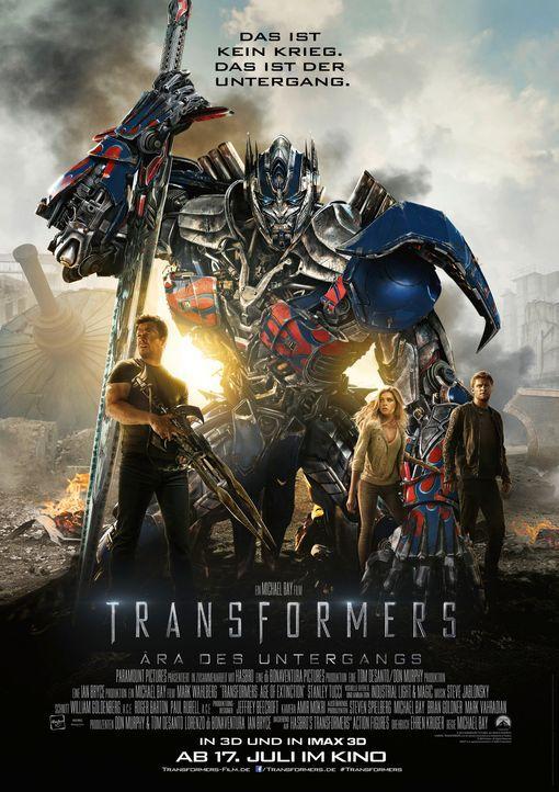 transformers-4-aera-des-untergangs-plakat-Paramount - Bildquelle: Paramount Pictures