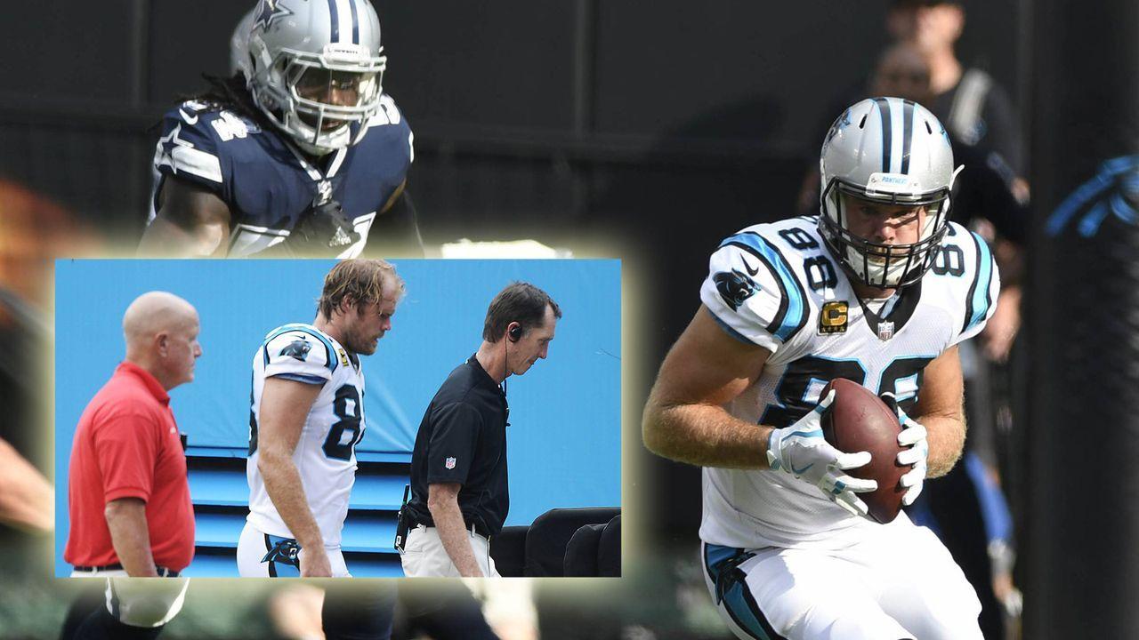 Greg Olsen (Carolina Panthers) - Bildquelle: imago
