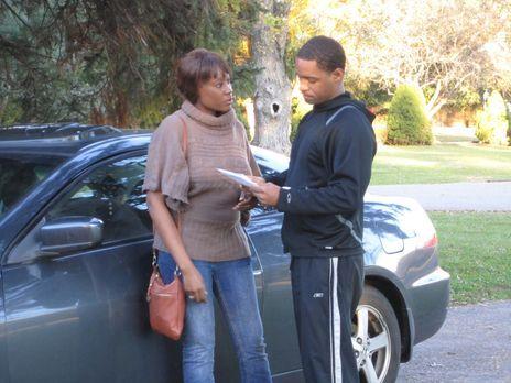 Der Limo-Fahrer Lee Redmond (r.) und seine Frau Renee (l.) führen eine glückl...