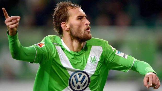 VfL-Wolfsburg-Bas-Dost © dpa