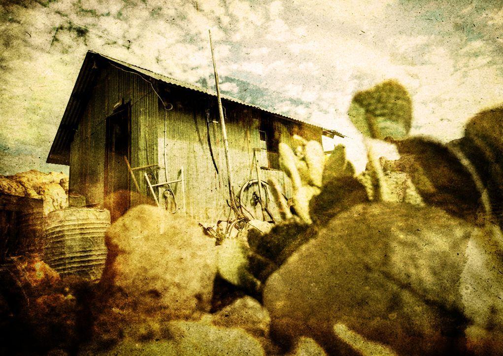 """Das """"Wunder der Wissenschaft""""- Labor  in der Wüste-Hütte hat alle Antworten auf die Phänomene der Wissenschaft... - Bildquelle: BBC 2015"""