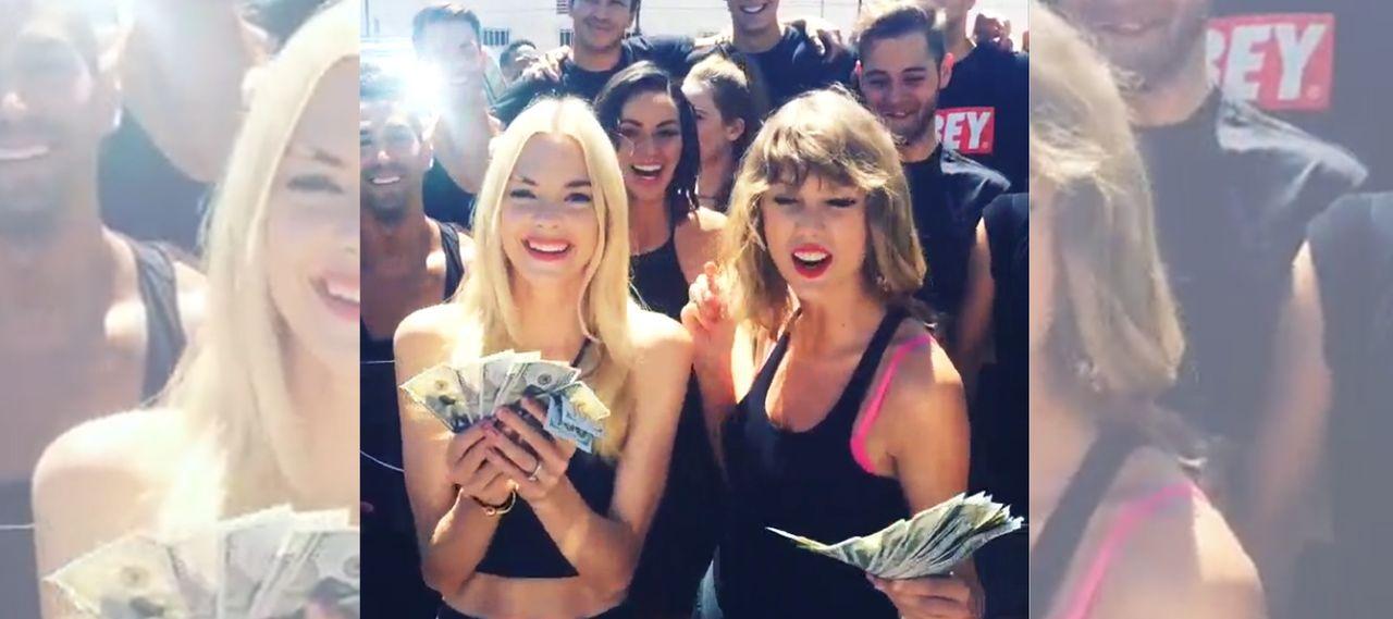 Taylor-Swift-Ice-Bucket-Challenge-vorher-Instagram-taylorswift - Bildquelle: Instagram/taylorswift