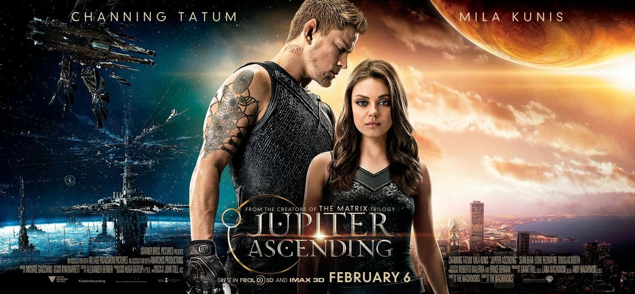 JUPITER ASCENDING - Plakat - Bildquelle: 2014 Warner Bros. Entertainment Inc., WV Films IV LLC, and Ratpac-Dune Entertainment LLC. All rights reserved.