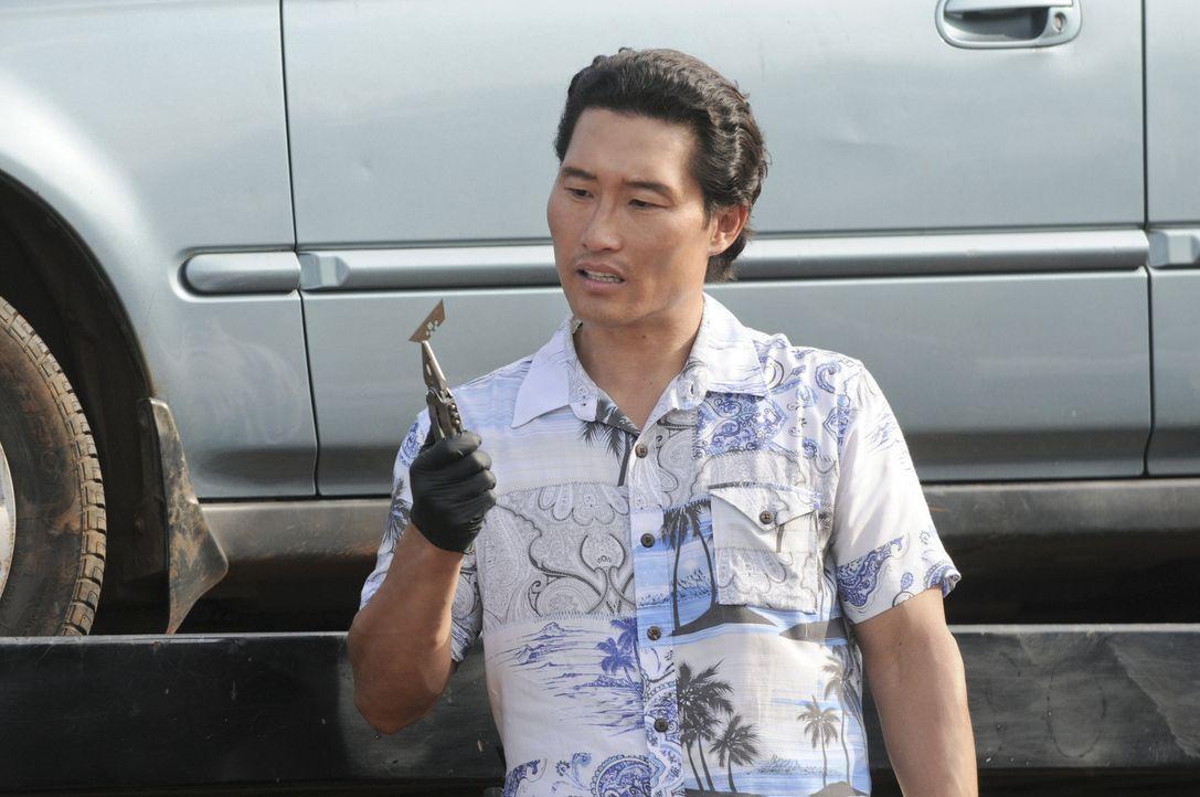 Die Ermittlungen in einem Mordfall laufen auf Hochtouren: Chin (Daniel Dae Kim) ... - Bildquelle: TM &   CBS Studios Inc. All Rights Reserved.