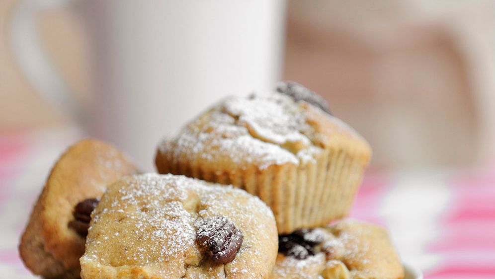 Mini-Muffins mit Äpfeln und Pekannüssen: Rezept