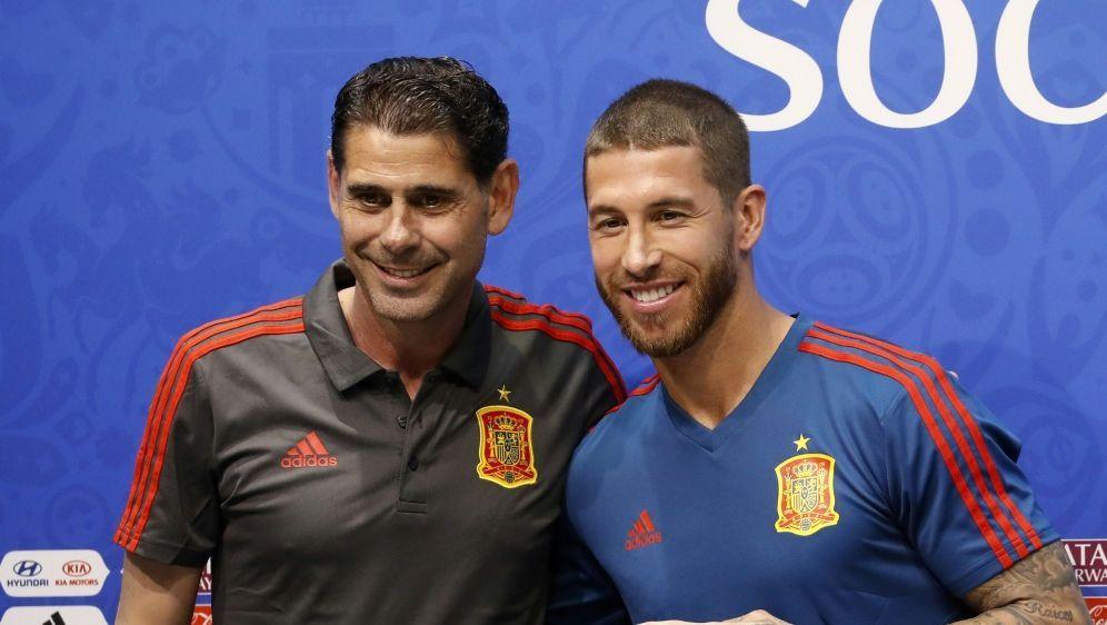 Ramos ist überzeugt von seinem neuen Trainer Hierro - Bildquelle: AFPSIDODD ANDERSEN