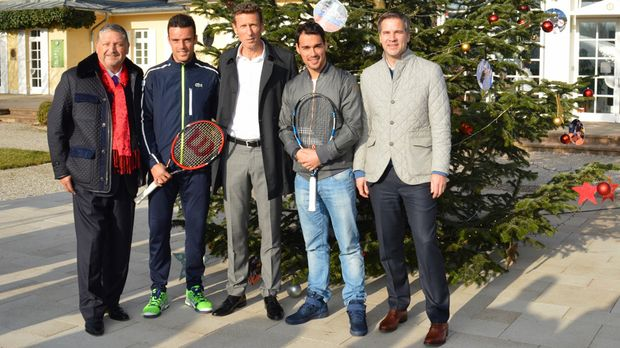 bmw open bautista agut und fognini in m nchen. Black Bedroom Furniture Sets. Home Design Ideas