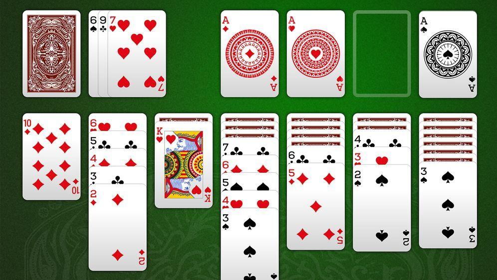 Solitär Kartenspiel Kabel Eins