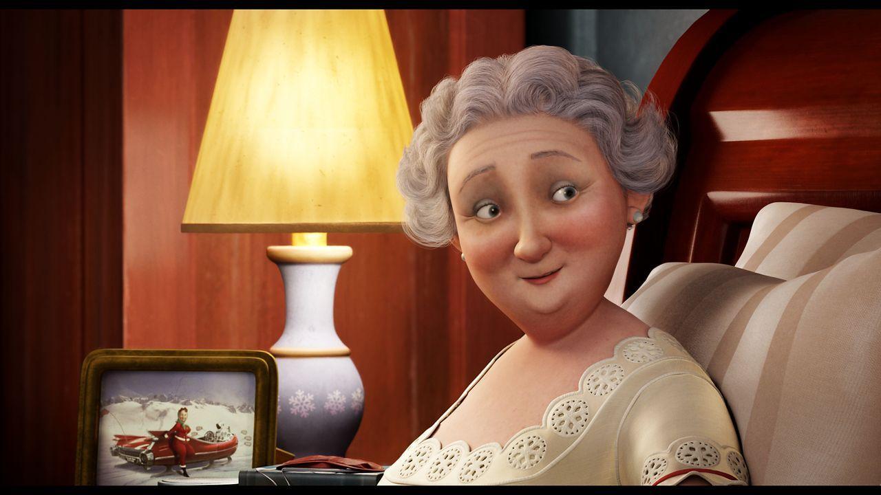 Ist stolz auf ihren Sohn Arthur: Frau Weihnachtsmann ... - Bildquelle: 2011 Sony Pictures Animation Inc. All Rights Reserved.
