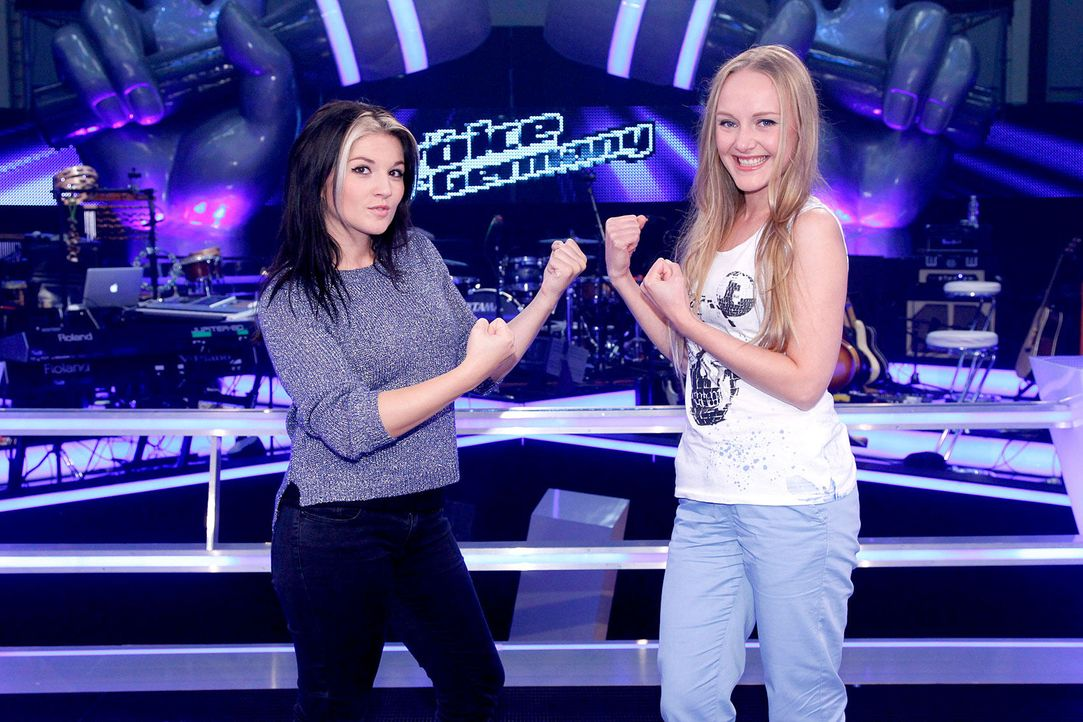 battle-lida-vs-mel-05-the-voice-of-germany-richard-huebnerjpg 1700 x 1133 - Bildquelle: SAT.1/ProSieben/Richard Hübner