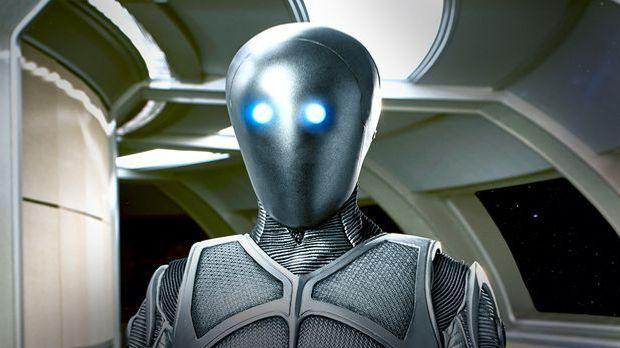 Mark Jackson spielt Isaac in The Orville