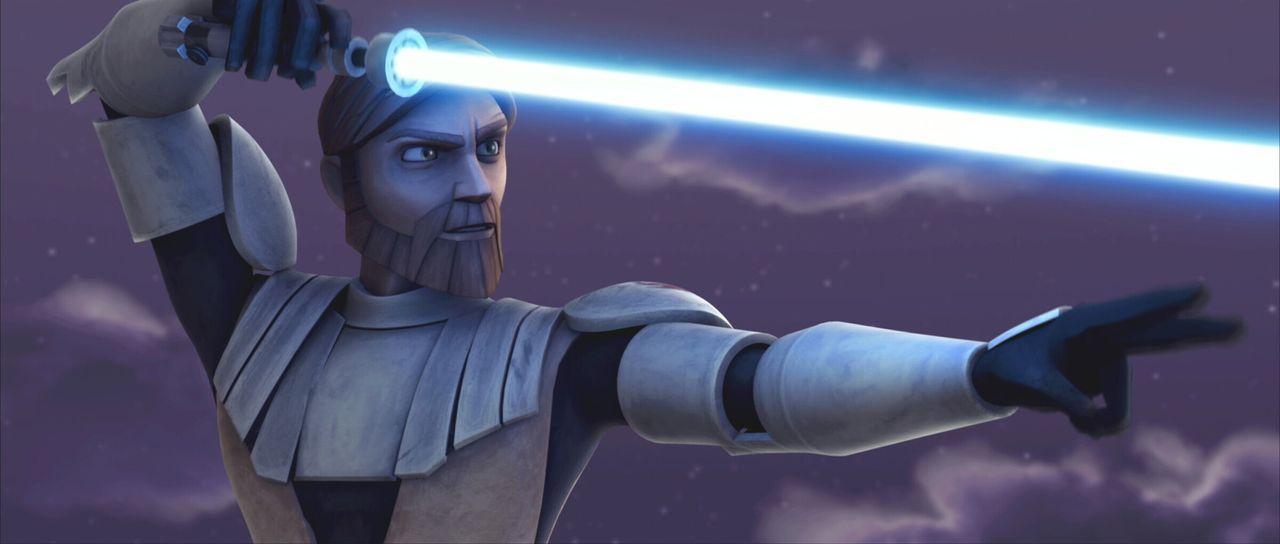 Riskiert Kopf und Kragen: Obi-Wan Kenobi ... - Bildquelle: 2008   Warner Bros. International Television