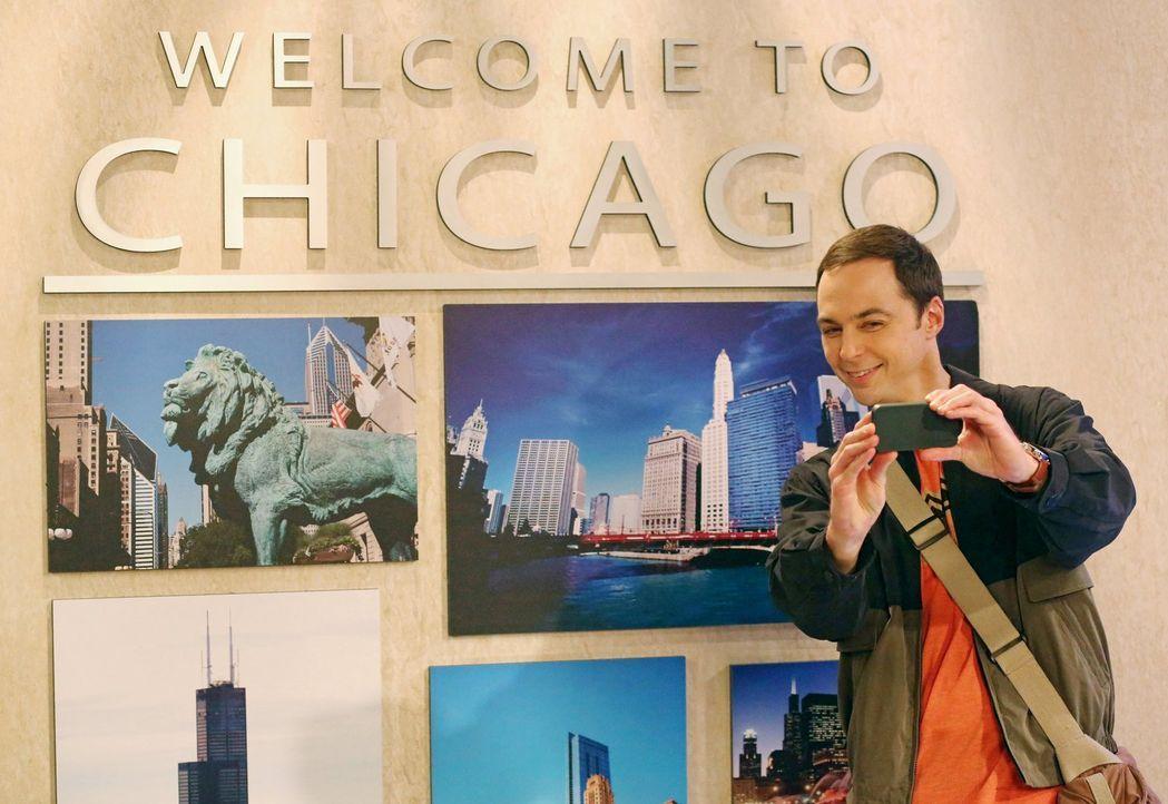 Während Sheldon (Jim Parsons) noch unterwegs ist, muss Howard mit dem Zusammenspiel zwischen Stuart und seiner Mutter zurechtkommen ... - Bildquelle: Warner Brothers