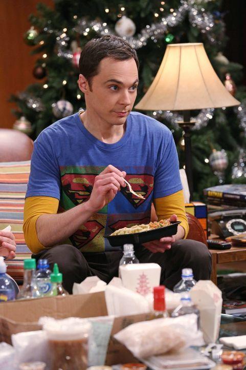 Sheldon (Jim Parsons) sucht einen Weg, sich an Amy zu rächen, dafür dass sie ihn zwingt, die Weihnachtsfeiertage zu zelebrieren ... - Bildquelle: Warner Bros. Television