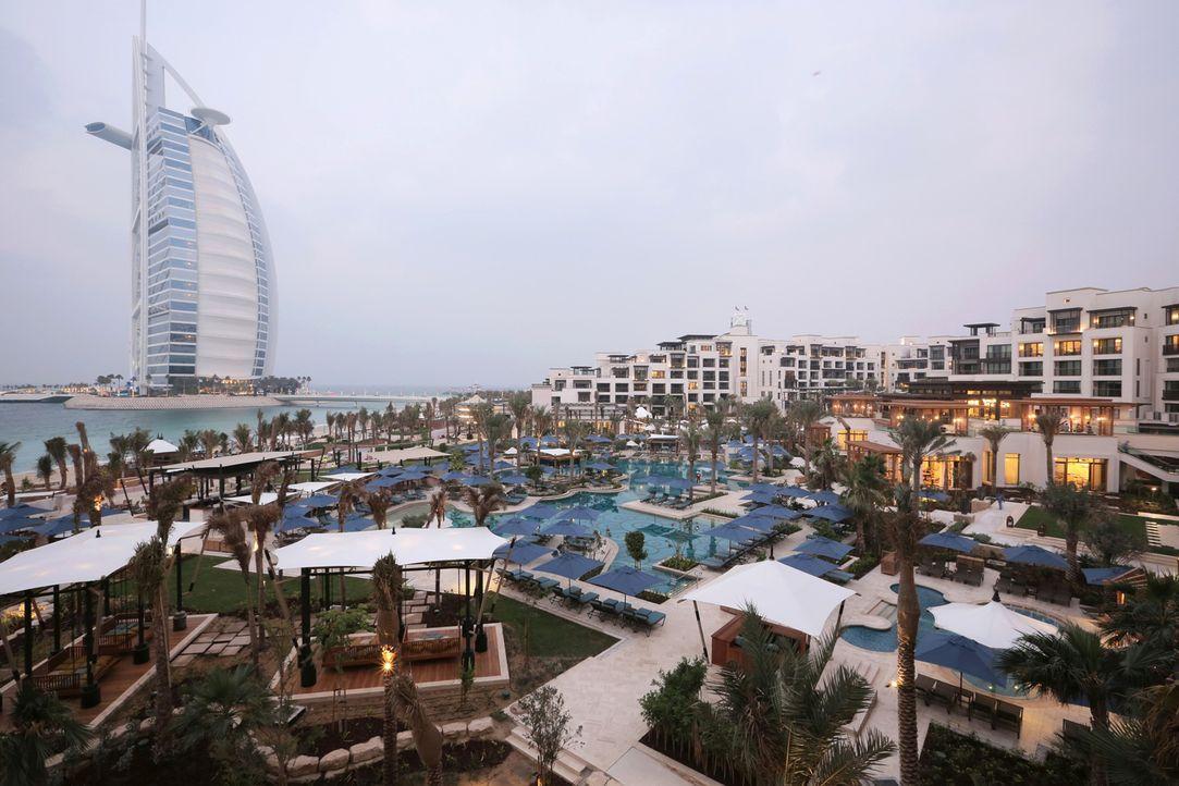 """Das Jumeirah Hotel """"Al Naseem"""" soll 450 Zimmer auf 5 Sterne Niveau bieten. - Bildquelle: SAT.1"""