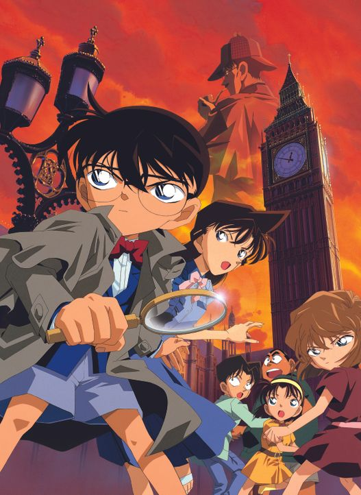 Detektiv Conan - Das Phantom der Baker Street - Artwork - Bildquelle: 2002 GOSHO AOYAMA / SHOGAKUKAN - YTV - NTV - ShoPro - TOHO - TMS All Rights Reserved.