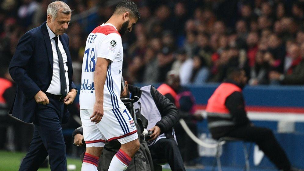 Nabil Fekir fällt auch gegen Hoffenheim aus - Bildquelle: AFPSIDFRANCK FIFE
