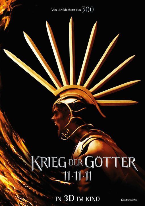 KRIEG DER GÖTTER - Plakatmotiv - Bildquelle: Constantin Film Verleih GmbH