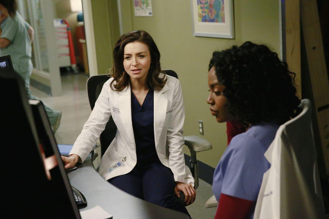 Amelia (Caterina Scorsone, l.) hat Schwierigkeiten, mit ihrer Vergangenheit zurecht zu kommen. Stephanie (Jerrika Hinton, r.) schlägt ihr deshalb vo... - Bildquelle: ABC Studios
