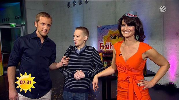 fruehstuecksfernsehen-silvester-2011-08 - Bildquelle: Sat.1