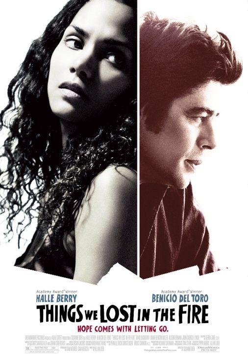 Things We Lost in the Fire - Hoffnung beginnt mit loslassen: Audrey Burke (Halle Berry, l.) und Jerry Sunborne (Benicio Del Toro, r.) ... - Bildquelle: DREAMWORKS LLC. ALL RIGHTS RESERVED.