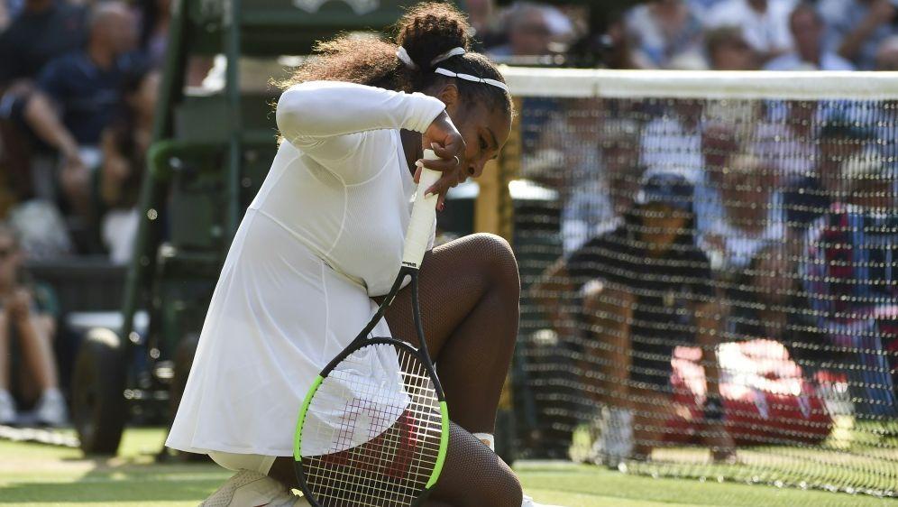 Serena Williams beschwert sich über Dopingkontrollen - Bildquelle: PIXATHLONPIXATHLONSID
