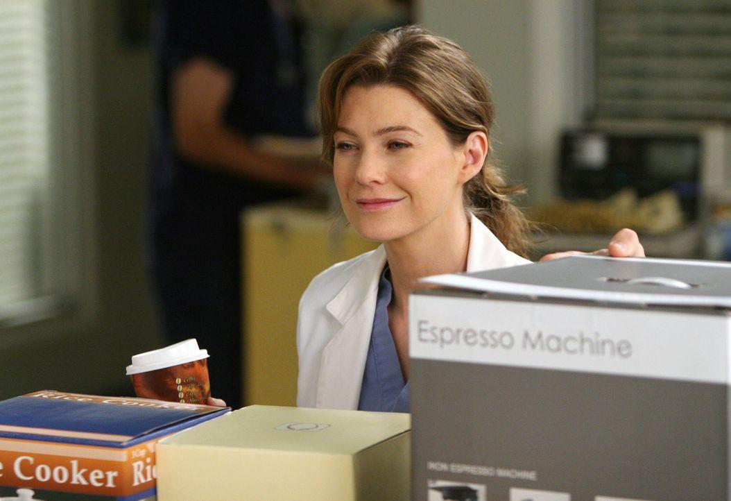 Versucht Burkes Mutter abzuwimmeln, doch hat keine Chance: Meredith (Ellen Pompeo) ... - Bildquelle: Touchstone Television